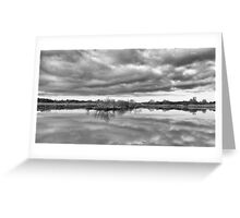 Reflections on the Broads Greeting Card