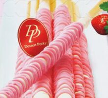 Strawberry Dessert Pocky Sticker