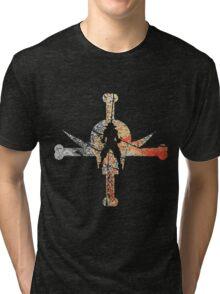 Fire Fist Ace Tri-blend T-Shirt