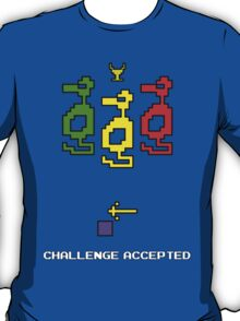 Atari Adventure Challenge Accepted TeeShirt T-Shirt