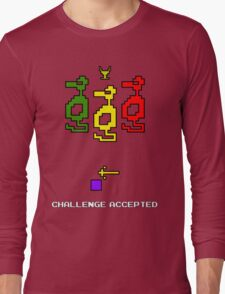 Atari Adventure Challenge Accepted TeeShirt Long Sleeve T-Shirt