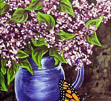 still life study Flowers 1 by Rachelle Dyer