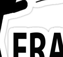 Frag out Sticker
