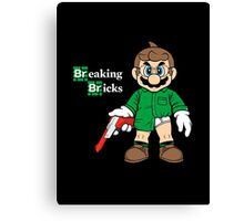 Breaking Bricks Canvas Print
