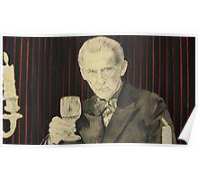 Peter Cushing in mixed media Poster