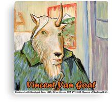Vincent Van Goat Canvas Print