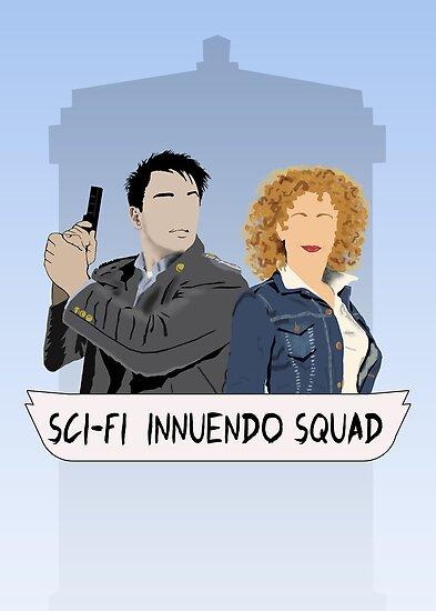 Sci-fi Innuendo Squad by saniday
