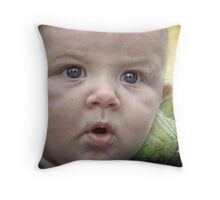 You got the cutest baby face Throw Pillow
