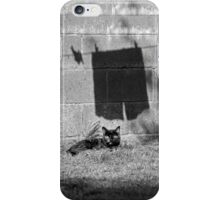 The cat and the pants iPhone case iPhone Case/Skin