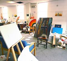 Community Artists Work Space. by Andrew Nawroski