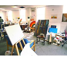 Community Artists Work Space. Photographic Print