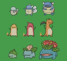 Pokemon Evolution by xogang