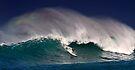 Surfer at Sunset Beach 2 by Alex Preiss