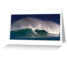 Surfer at Sunset Beach 2 Greeting Card