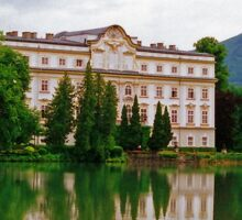 Schloss Leopoldskron, Salzburg, Austria Sticker