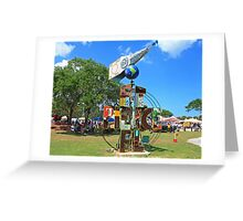 ft pierce sign Greeting Card