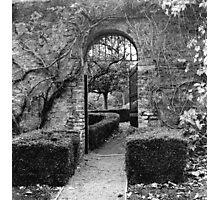 The Walled Garden, Farmleigh, Phoenix Park Photographic Print