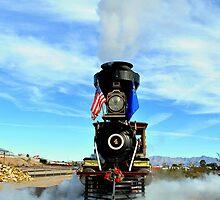Steam Engine Train by Eleu Tabares