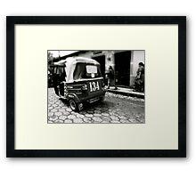 BW Tuc Framed Print