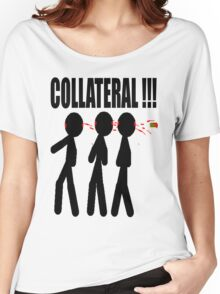 COLLATERAL Women's Relaxed Fit T-Shirt