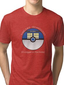 It Has To Be Timelord Technology Tri-blend T-Shirt