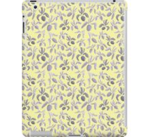 Sumi Ink Orchids Pattern iPad Case/Skin
