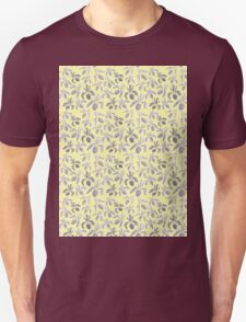 Sumi Ink Orchids Pattern Unisex T-Shirt