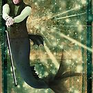 Turn of the Century Merman by InfinityRain