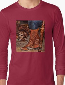 Boots and Buddy Long Sleeve T-Shirt