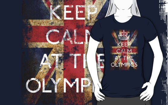 KEEP CALM AT THE OLYMPICS (  LONDON 2012 ) by karlangas