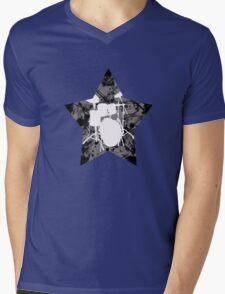 Rockstar drums Mens V-Neck T-Shirt