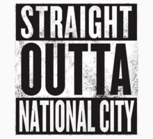 Straight Outta National City Kids Clothes