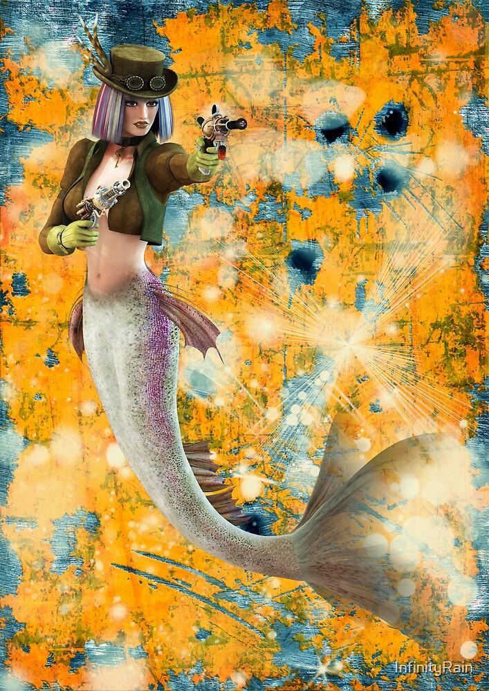 Steampunk Mermaid by InfinityRain