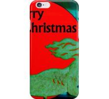 Christmas Mermaid - Merry Christmas iPhone Case/Skin