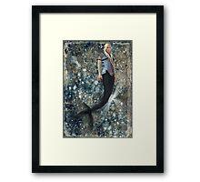 Elven Merman Framed Print