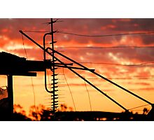 Northern Goldfields Sunset Photographic Print