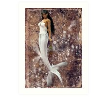 Elven Mermaid Art Print