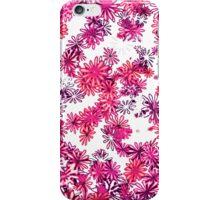 retro flower power pattern iPhone Case/Skin