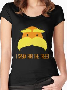 I Speak For The Trees! Women's Fitted Scoop T-Shirt