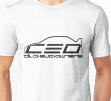 Club Evo Owners - Regular Logo (Black) Unisex T-Shirt