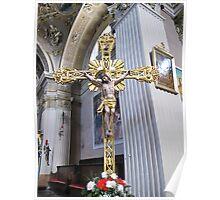 cross in San Siro Poster