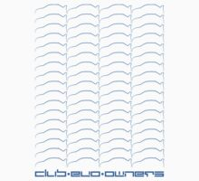 Club Evo Owners - Repeat Pattern (Blue) by James Love