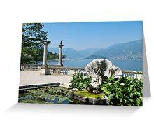 Bellagio Villa Melzi gardens Greeting Card