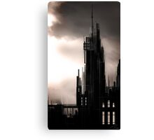 """Gothic Castle"" Canvas Print"