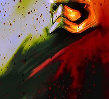 Star Wars   Captain Phasma  by petergraysart