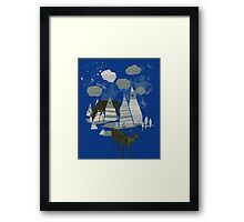 magic mountains Framed Print