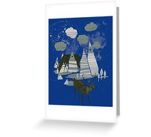 magic mountains Greeting Card