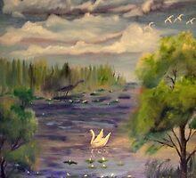 Crosswinds Marsh in the Summer by tusitalo