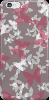 sketchy butterflies by offpeaktraveler
