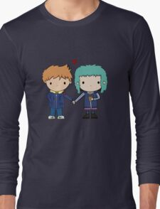Scott Pilgrim - Scott and Ramona Long Sleeve T-Shirt